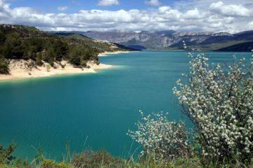 Journée pédalu gorges du verdon et lac de sainte-croix