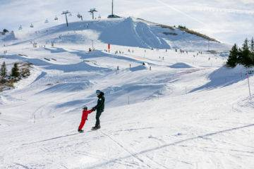 Private snowboard lesson for children 3-5 years old