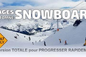 Stage snowboard de 5 jours en novembre (les diablerets et zermatt)