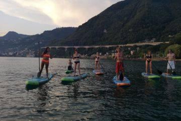 Stand up paddle à villeneuve pour groupe dès 8 personnes