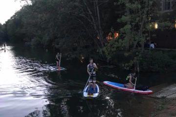 Balade en soirée canoë ou paddle à poitiers