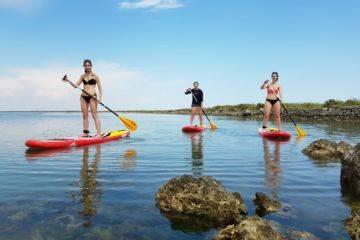 Balade paddle initiation à frontignan