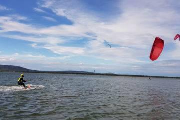 Cours de kitesurf à la carte frontignan