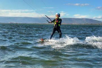 Cours particuliers de kitesurf a frontignan
