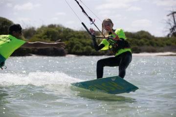 Navigation surveillée en kitesurf à frontignan