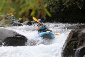 Kayak (air boat), journée complète