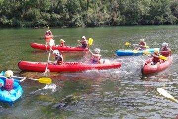 "Descente journée en canoë ""aventure"" (18km)"