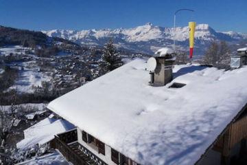 Loft 2x2 people / ski / saint-gervais mont-blanc
