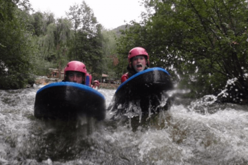 Hydrospeed initiation :  saint georges gorges