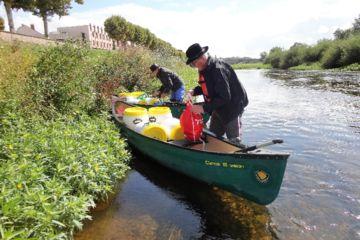 Randonnée en canoë depuis digoin 7 jours - (160 km)