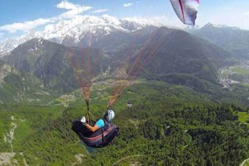 Training course parapente mont blanc