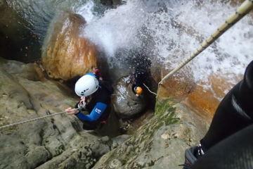 Initiation canyoning journée | au versoud et aux écouges