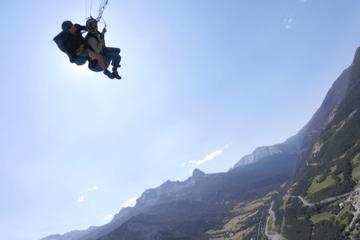 Adrenaline paragliding tandem