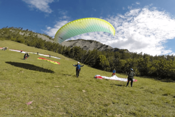 Stage initiation parapente