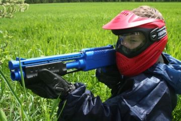 Paintball enfant vers paris - oise