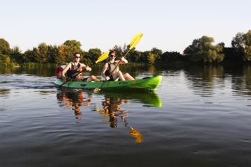 Descente journée en canoë - 20km