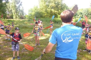 Encadrement de groupes en canoë-kayak, team-building
