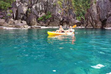 """"""" journée """"    de location kayak pour la réserve cousteau 35€/pers"""