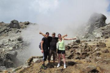 """Hike on the volcano """"la soufrière"""""""