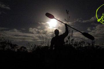 Canoë-kayak nocturne sur la vallée de l'aveyron