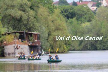 Canoe kayak from isle adam to auvers n/a accessible in transilien!