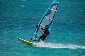 Private lesson windsurfing cupabia