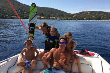 Water ski & wakeboard lesson(s) in campomoro