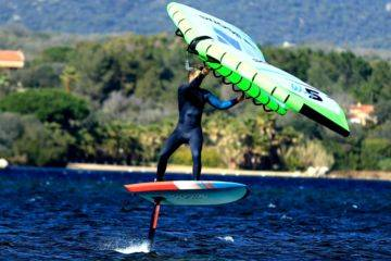 Private lessons and wing surf rental in cupabia