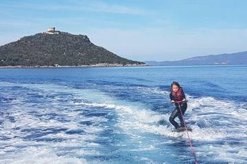 Leçon(s) de ski nautique & wakeboard à campomoro
