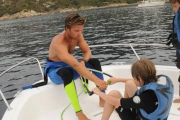 Lezioni di sci nautico e wakeboard a cupabia