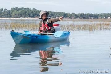 Sophie bégin, monitrice kayak environnement, créatrice de becalou