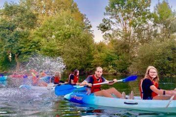 Balade en canoe jaunay marigny