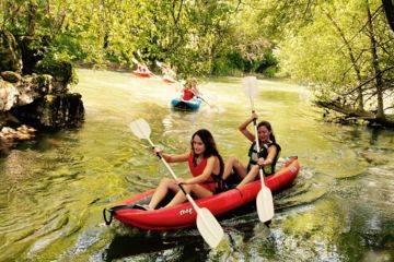 Balade en canoë  à ligugé