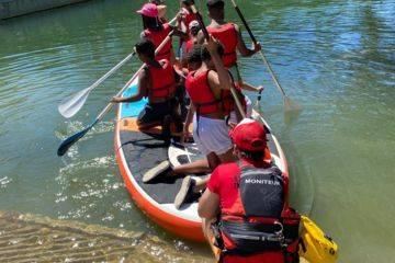 Cours canoë-kayak - paddle à ligugé