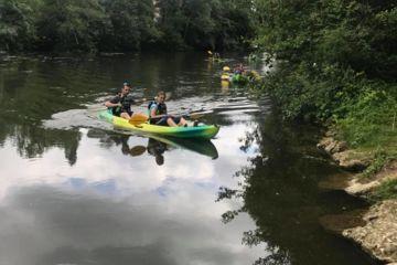 Descente en canoë - kayak ou paddle 5km ligugé / saint benoit