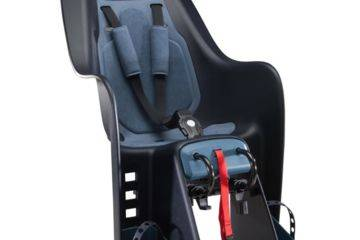 Baby seat can be fixed on a vtc luggage carrier.
